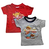 NammaBaby Tees Solid Color Printed T-Shi...