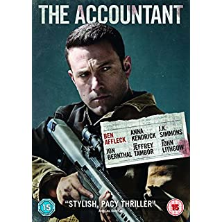 The Accountant [DVD + Digital Download] [2017]