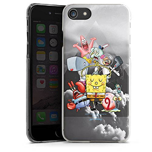 Apple iPhone X Silikon Hülle Case Schutzhülle Spongebob Fanartikel Merchandise Spongebob Crew Hard Case transparent