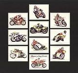Motorrad-Größen Sammler Karten