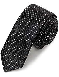 """Neu Polyester Herren 1.5 /"""" Skinny Krawatte nur Solid Formell Hochzeit"""