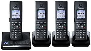 Panasonic KX-TG8564EB Quad Corldess DECT Telephone set with Colour screen and Answer Machine