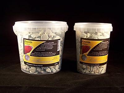 Silbermann Zeolith pour aquarium d'eau de mer et d'eau douce, fin, gros ou en poudre 30 µ, filtres, détoxifiant