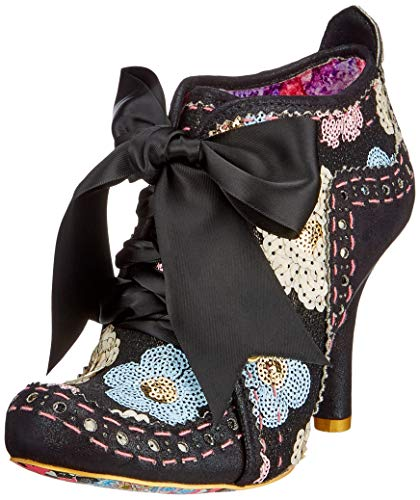 Irregular Choice Damen Abigail's Third Party Pumps, Schwarz (Black Sequins Cf), 41 EU Black Party Pumps