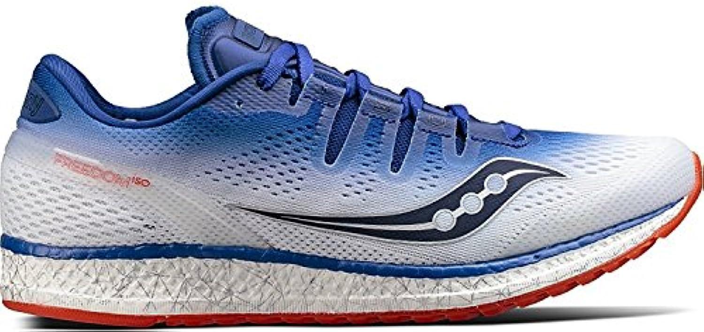 Saucony Men's Freedom ISO Running Shoe, Azul/Blanco, 37.5 D(M) EU/4 D(M) UK