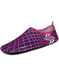 Unisex Strandschuhe Aquaschuhe Breathable Schlüpfen Schnell Trocknend Schwimmschuhe Surfschuhe für Damen Herren Kinder Baby