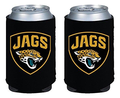 kolder-licensed-inc-beverage-insulator-2-piece-jacksonville-jaguars-magnetic-kaddy-set-black-12-oz