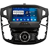 RoverOne Android System 8 Zoll Autoradio GPS für Ford Focus 3 2012 2013 2014 mit Navigation Radio Stereo DVD Bluetooth SD USB Touch Screen