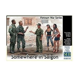 Master Box mb35185Figuras Somewhere en Saigon, Vietnam War Series, Juego