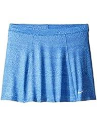 Nike Girls Printed Skort Falda de Golf, Niña, Azul, XL