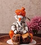 Best Statue - Karigaari Ganesha with Tabla Polyresine Statue Review