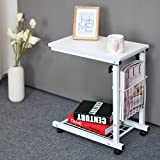 GUI Einfacher Und Moderner Abnehmbarer Nachttisch Hebe Schlafzimmer Kleiner Couchtisch Fauler Computertisch Sofa Kleiner Schreibtisch/Couchtisch,Style6,Einheitsgröße