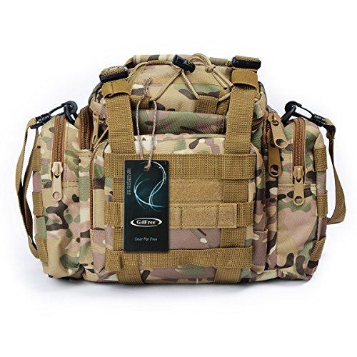 Imagen de g4free  asalto táctico utilidad paquete de la cintura bolsa campo militar bolsa para deportes al aire libre camping transporte senderismo
