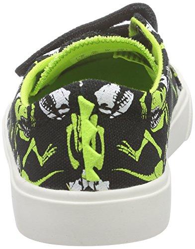 Clarks Tricer Roar Jungen Sneakers Schwarz (Black Combi)