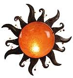 Naeve Leuchten Dekowandleuchte/durchmesser: 39 cm/Metall, Kunststoff/orange 176898