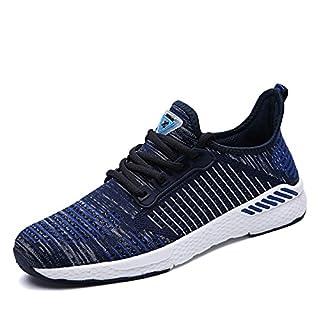 unisex Sportschuhe Atmungsaktives Mesh Wander Belüftung Trekking Wanderhalbschuhe Sneakers Outdoorschuhe Casual Schuhe Sommerschuhe, 42 EU, Farbe: Blau