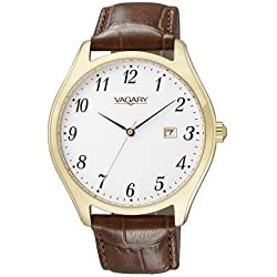 Vagary by Citizen 9-426-10 ID Wrist Watch-Leather