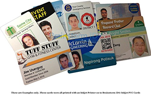 tarjetas de PVC Brainstorm ID