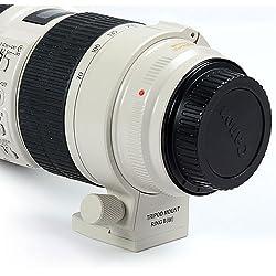 DSLRKIT haute qualité trépied Bague de fixation B (L) pour Canon 70-200mm f/2.8L IS II USM et EF 100-400mm f/4.5-5.6L IS USM