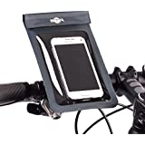 BTR Bicycle Handlebar Waterproof Phone Mount Holder With Quick Release System - No Tools Required