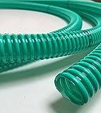VE-INDUSTRIES PVC Spiralschlauch Saugschlauch grün transparent, 25 mm (1