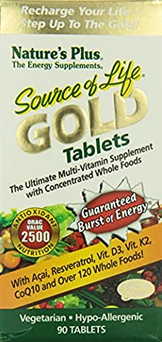 Nature's Plus Source of Life Gold Tablets 90