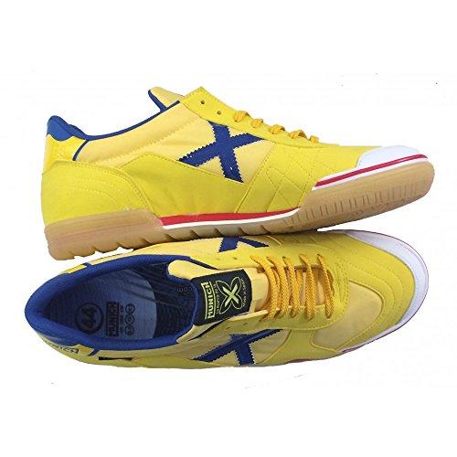 Chaussures de Futsal MUNICH GRESCA Jaune Jaune - jaune