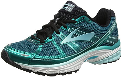 Brooks Vapor 4, Scarpe da Running Donna, Multicolore (Green/Mint/Black 351), 37.5 EU