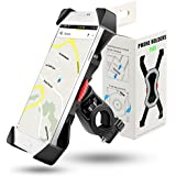 Bicycle mobile phone holder 360degree Rotatable for 3.5–6.5Inch, Second Generation Outdoor Universal Mobile Phone Holder Bike Mount Motorcycle Bike Handlebar Smartphone GPS Other Devices