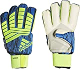 adidas Erwachsene Predator Ultimate Torwarthandschuhe, Solar Yellow/Black/Football Blue, 10