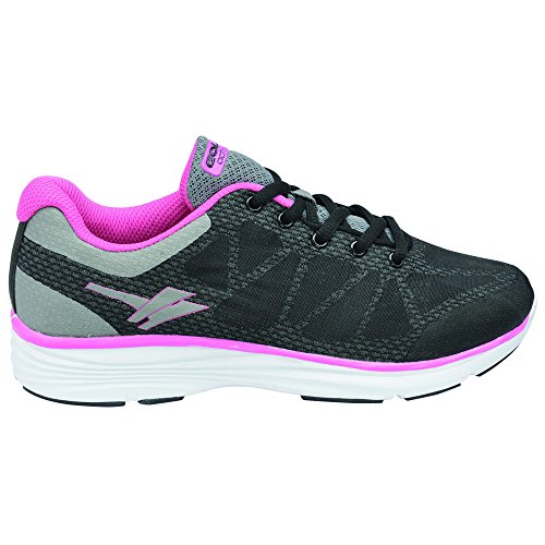 Gola Active Ice Donna Fitness Sneaker Black/Grey/Pink
