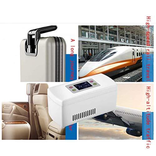 51qXnyV5EOL - Caja refrigerada de insulina, refrigerador portátil médico de 2-8 ° C, caja enfriadora de medicamentos, para viajes/gotas para los ojos/interferón/almacenamiento de drogas