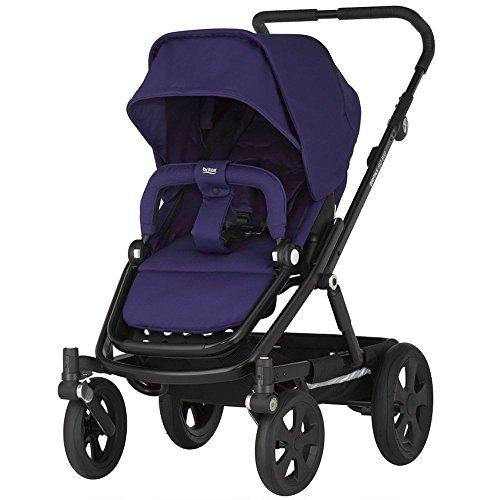 Farbe:Black/Slate Chassis Britax 2000014507 Smile,Kombi-Kinderwagen Kinderwagen Zubehör