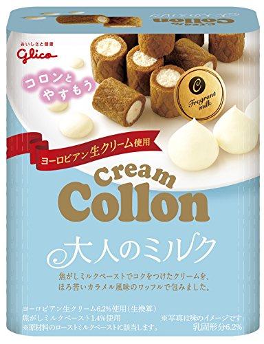 Glico Creme Collon Reiche Milch 48g Europäische Frische Sahne Dagashi Snack Japan