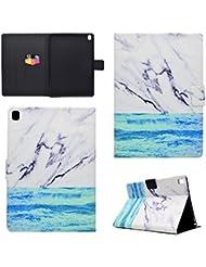 Coque Apple iPad Pro 9.7, BONROY® Smart Case Coque pour Apple iPad Pro 9.7 TPU Souple Bumper Fermeture Magnétique avec Function Veille Automatique Etui Housse Case Cover pour Apple iPad Pro 9.7 - océan