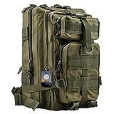TTLIFE Rucksack moderne 30L Tasche mit mehrfachen Farben- perfekte für Outdoor Sports Bergsteigen Radfahren, der militärischen taktischen Trekkingrucksäcke-Wanderrucksäcke/ Sportrucksack Reisetaschen/für Reisen und Camping(Armee Grün)