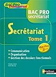 SECRÉTARIAT - Communication - Organisation - Gestion des dossiers fonctionnels...