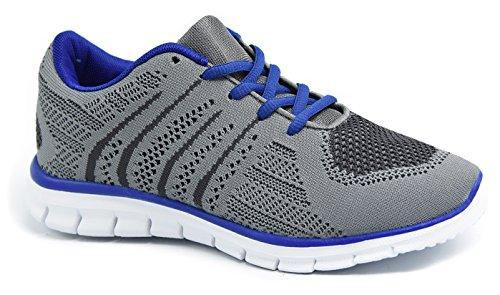 Leder-patent Leder Heels (Knixmax Damen Sportschuhe Leichtes Sneaker Wasserdicht Atmungsaktiv Turnschuhe Outdoor Fitnessschuhe Schnür Laufschuhe)