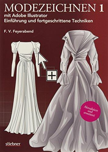 Modezeichnen 1 mit Adobe Illustrator: Einführung und fortgeschrittene Techniken Buch-Cover
