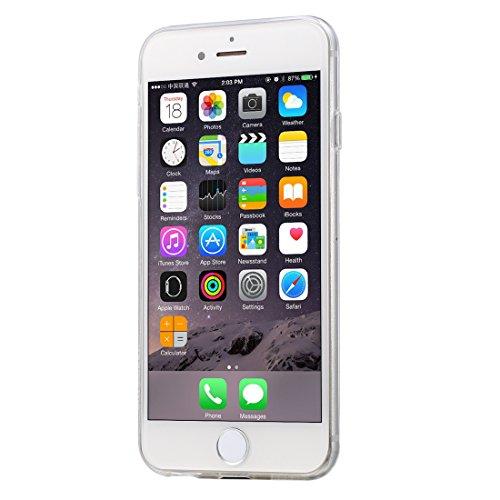 iPhone 6 s Hülle, HAWEEL ® 0,3 mm Zero Serie TPU Schutzhülle für das iPhone 6/iPhone 6 s, Pink Transparent 6 Plus