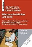 Wissenschaftliches Arbeiten, 2. Auflage