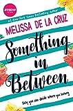 Something in Between by Melissa De la Cruz front cover