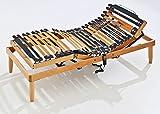 Baldiflex Rete ergonomica Ortopedica Linea Top MOTORIZZATA in Legno - 100x195 cm