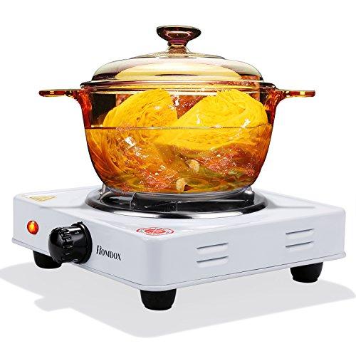 1000W kochplatte elektrisch Kochgeschirr Heizplatte Weiß