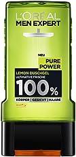 L'Oreal Men Expert Pure Power Lemon Duschgel gegen Hautunreinheiten (2 x 300 ml)
