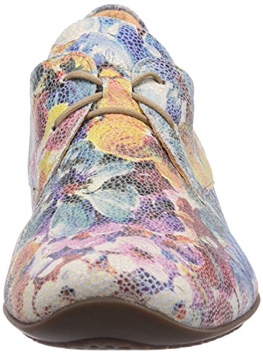 Think Chilli, Chaussures de ville femme Multicolore (Bianco/Multi 95)