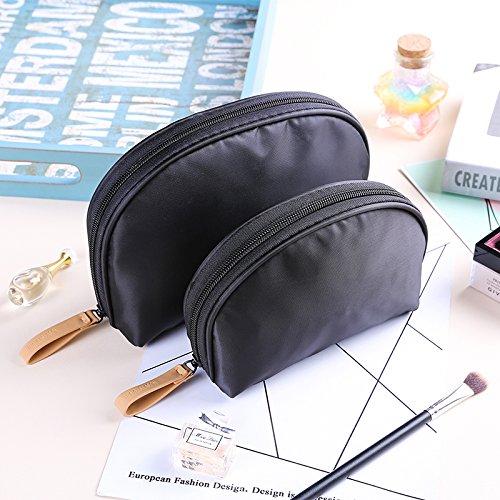 MZP Korea Cosmetic Eintritt Paket der großen Kapazität Frau Handtasche Größe Nr wasserdichte bewegliche Spielraum Mini Dame einfach , black (trumpet + tuba) two set