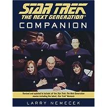 Star Trek: The Next Generation Companion by Larry Nemecek (1995-05-01)