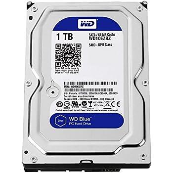 WD Blue 1TB Internal Desktop 3.5 inch Hard Drive (WD10EZRZ)