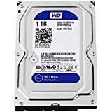 WD Blue 1TB SATA 6Gb/s HDD internal 8,9cm 3,5Zoll serial ATA 64MB cache 5400 RPM RoHS compliant Bulk